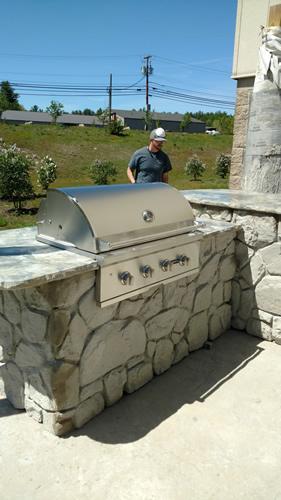 adding grill